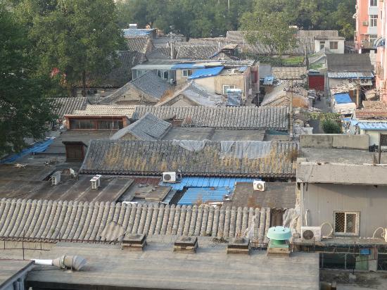 Beijing Jade International Youth Hostel: view from window