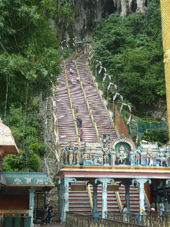 Seri Pacific Hotel Kuala Lumpur: lots of steps