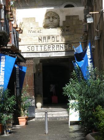 Bay of Naples : Subterranian Tunnel Entrance