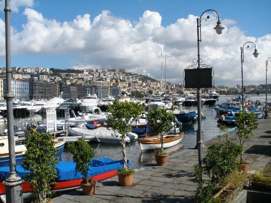 Bay of Naples : Naples City coastline