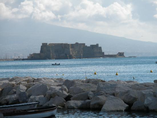 Bay of Naples : Looking out to Castel D Ovo