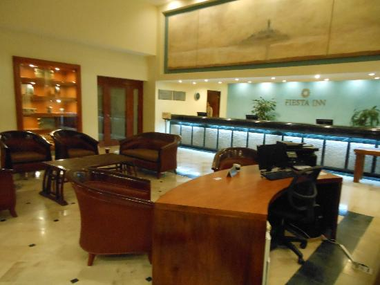 Fiesta Inn Veracruz Boca del Rio: Lobby y recepción