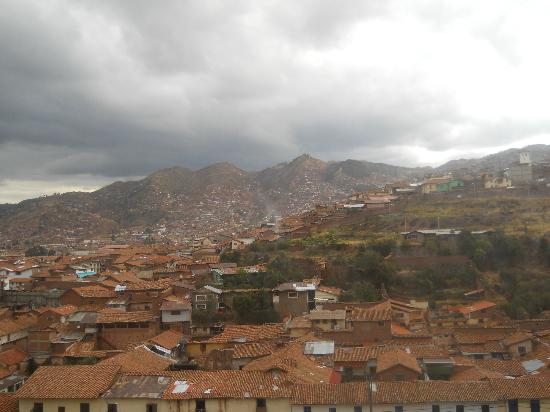 The Walkon Inn Cusco: view from room 303