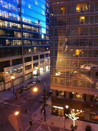 Kinzie Hotel: view from room