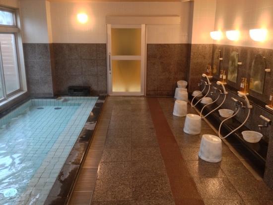 Hotel Toyo Inn Kariya: ofuro from other side