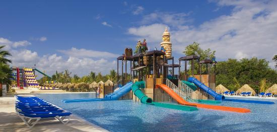 Sirenis Aquagames Punta Cana : Pirate Area for children from 4 to 11 years old