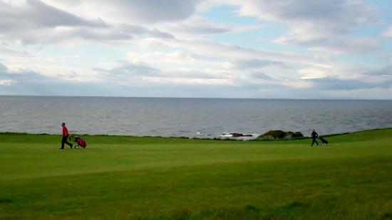 Turnberry Resort Golf Courses: enjoying the view !!