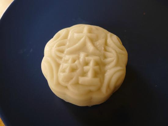 Snowy mooncake from Taipan Bakery