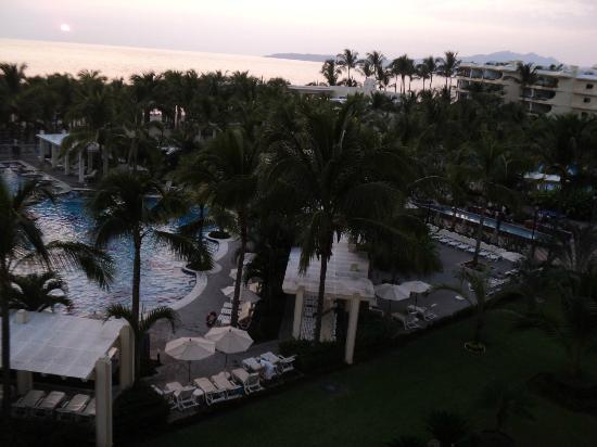 Hotel Riu Vallarta: vista desde la habitación