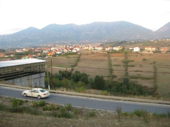 Hotel Viktoria: View from back of hotel