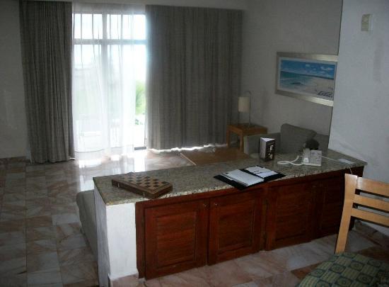 Omni Cancun Resort & Villas: Le salon du villa 8.
