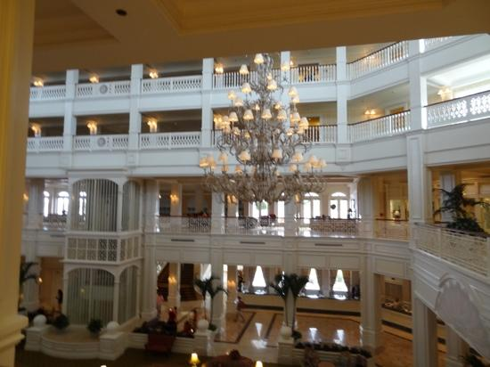 Disney's Grand Floridian Resort & Spa: parte interna