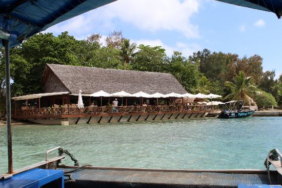 Erakor Island Resort & Spa: Aqua Restaurant