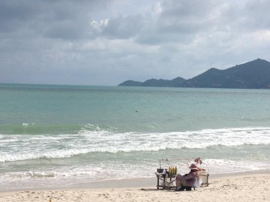بان شاونج بيتش ريزورت آند سبا: beach 