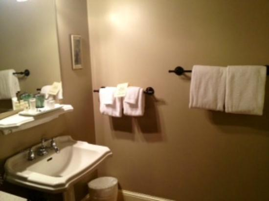 The Sayre Mansion Inn: Bathroom
