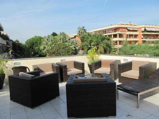 Hotel Nice: patio