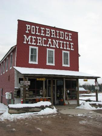 Polebridge Mercantile and Cabins: Polebridge Mercantile