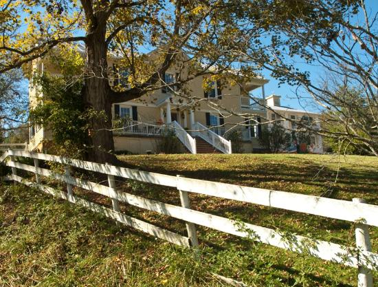 Shenandoah Manor Bed and Breakfast: Beautiful fall colors.