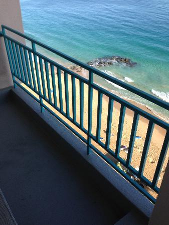 San Juan Marriott Resort & Stellaris Casino: balcony