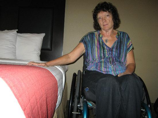 La Quinta Inn Moab: High bed