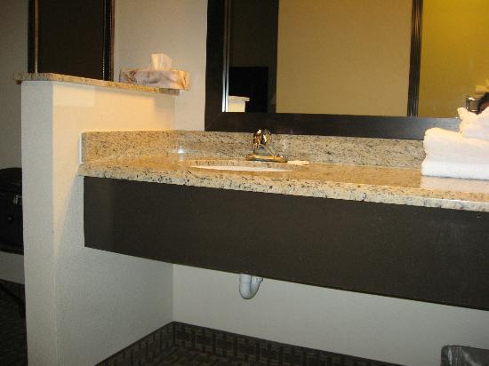 La Quinta Inn & Suites Moab: Sink and counter