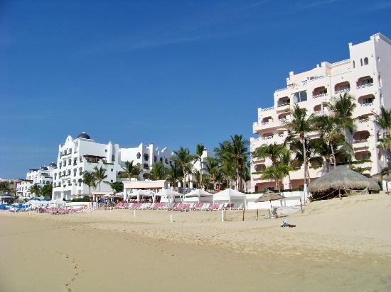 Pueblo Bonito Rose: Resort from beach