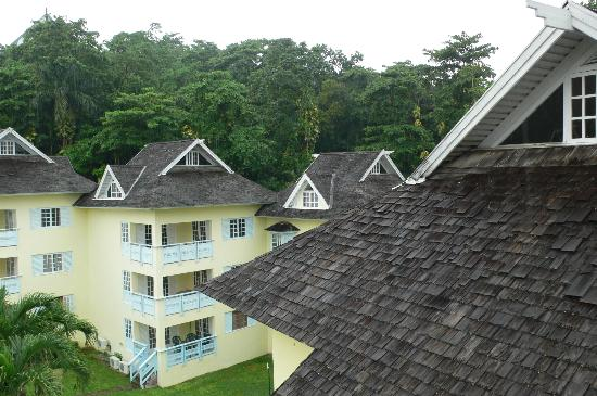 Mystic Ridge Resort: View from Our Loft