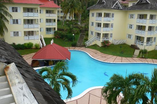 Mystic Ridge Resort: View from Our Loft