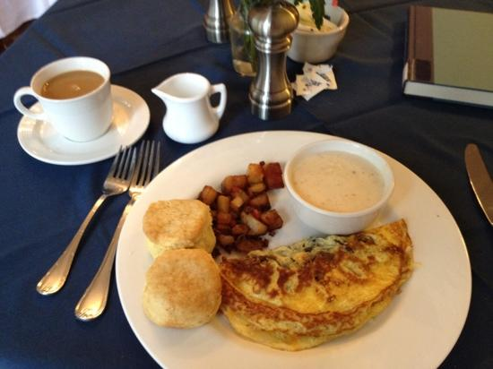 Boone Tavern Hotel: my amazing breakfast!