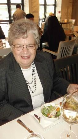 Oliver & Bonacini Cafe Grill: Quiche and Aunt Kay...