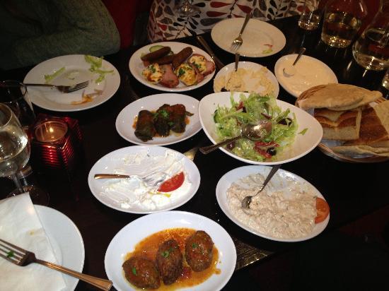 Christakis Greek Taverna : Meat meze starter
