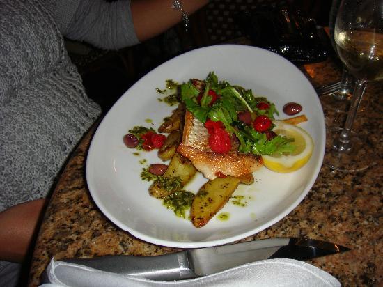 Mon Ami Gabi: Fish of the day