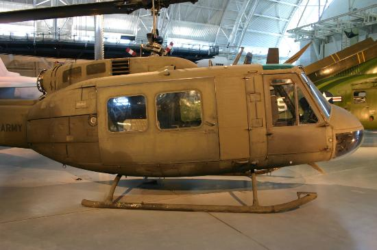 Smithsonian National Air and Space Museum Steven F. Udvar-Hazy Center: Huey
