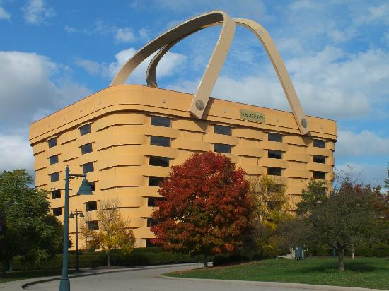 Dresden, OH : Longaberger Head Office (8 floors tall)
