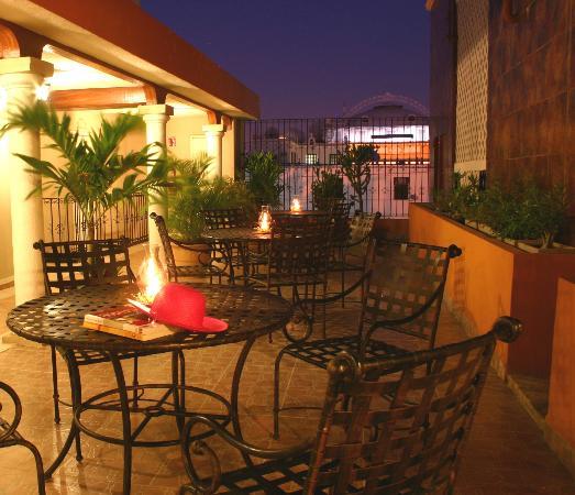 Terraza Del Cuarto Piso Picture Of Hotel Colonial Merida