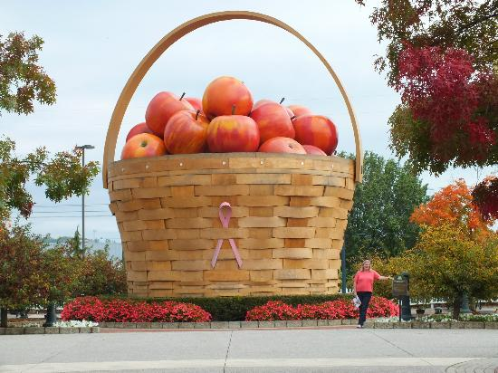 Longaberger Basket Factory/Homestead: Largest Fruit Basket in the World