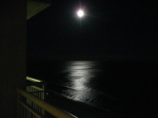 Moonlight from balcony