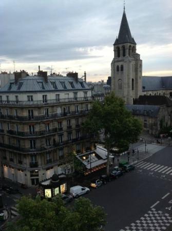 Au Manoir Saint Germain De Pres: View from Room 601
