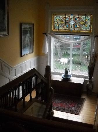 Les Trois Erables: The staircase.