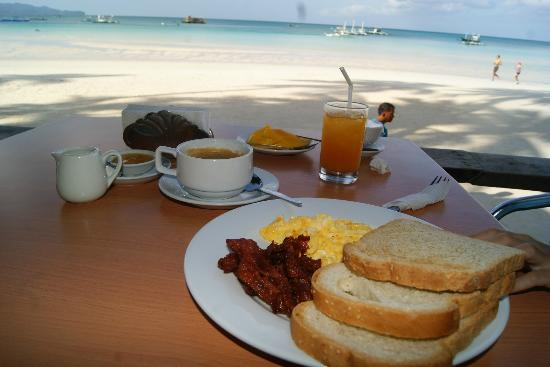 True Home Hotel, Boracay: Beat this. Big breakfast w/ view