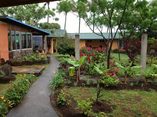 Taura'a Hotel: Garden