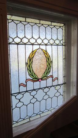 Lily House B&B: Stain Glass Window