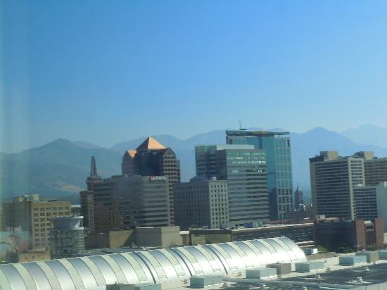 Radisson Hotel Salt Lake City Downtown: view from room #1510