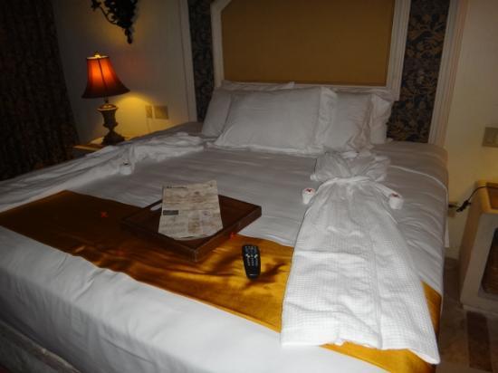 Zoetry Paraiso de La Bonita: La habitación preparada para dormir