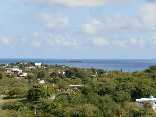 SeaGate Hotel: View from the veranda