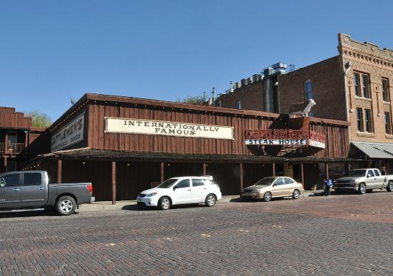 Cattlemen's Fort Worth Steak House: Front elevation of Cattlemen's Steak House in Fort Worth.