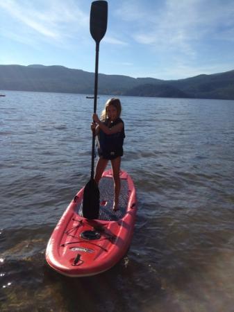 ذا توانيك هوتل آند سبا: paddle boarding in November 