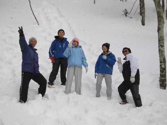 Teshirozawa Onsen: 宿の周辺