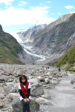 Franz Josef Glacier: At foot of the glacier
