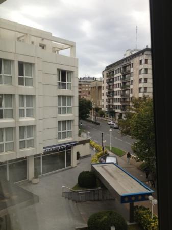 Hotel San Sebastian: vue du deuxième étage